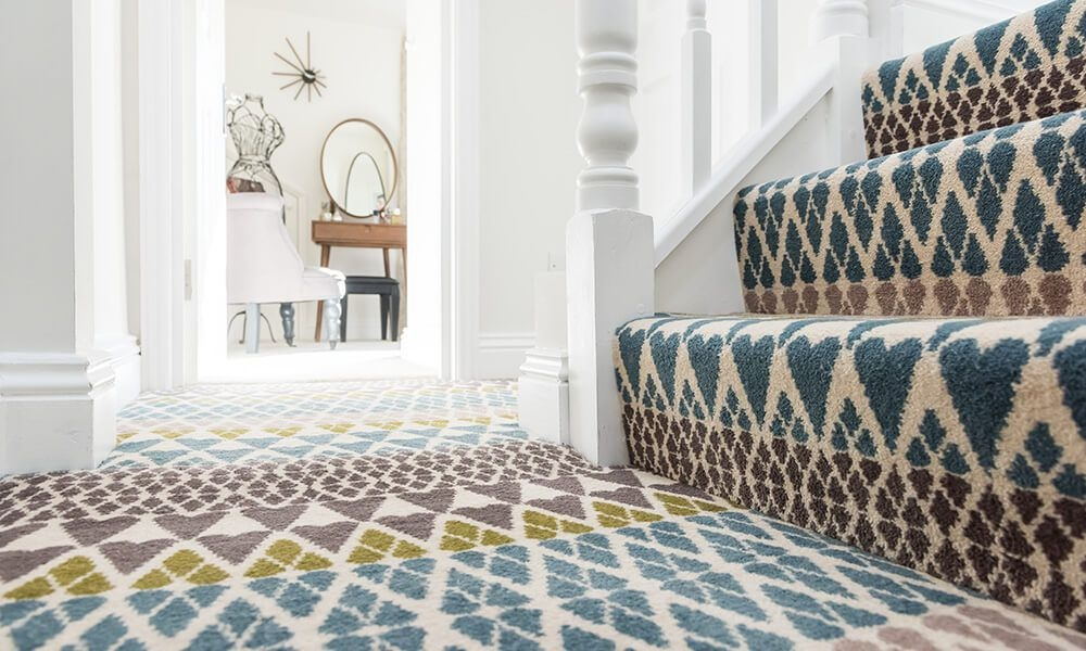 13 Best Carpet Trends For 2020   Leopard Carpet On Stairs   Zebra Print   Giraffe Print   Milliken   Patterned   Antilocarpa
