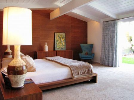 Midcentury Modern Bedroom Decorating Ideas Mid century modern master bedroom