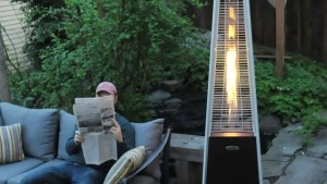 AZ Patio Heaters Tall Glass Tube Heater Review: Warmth Of