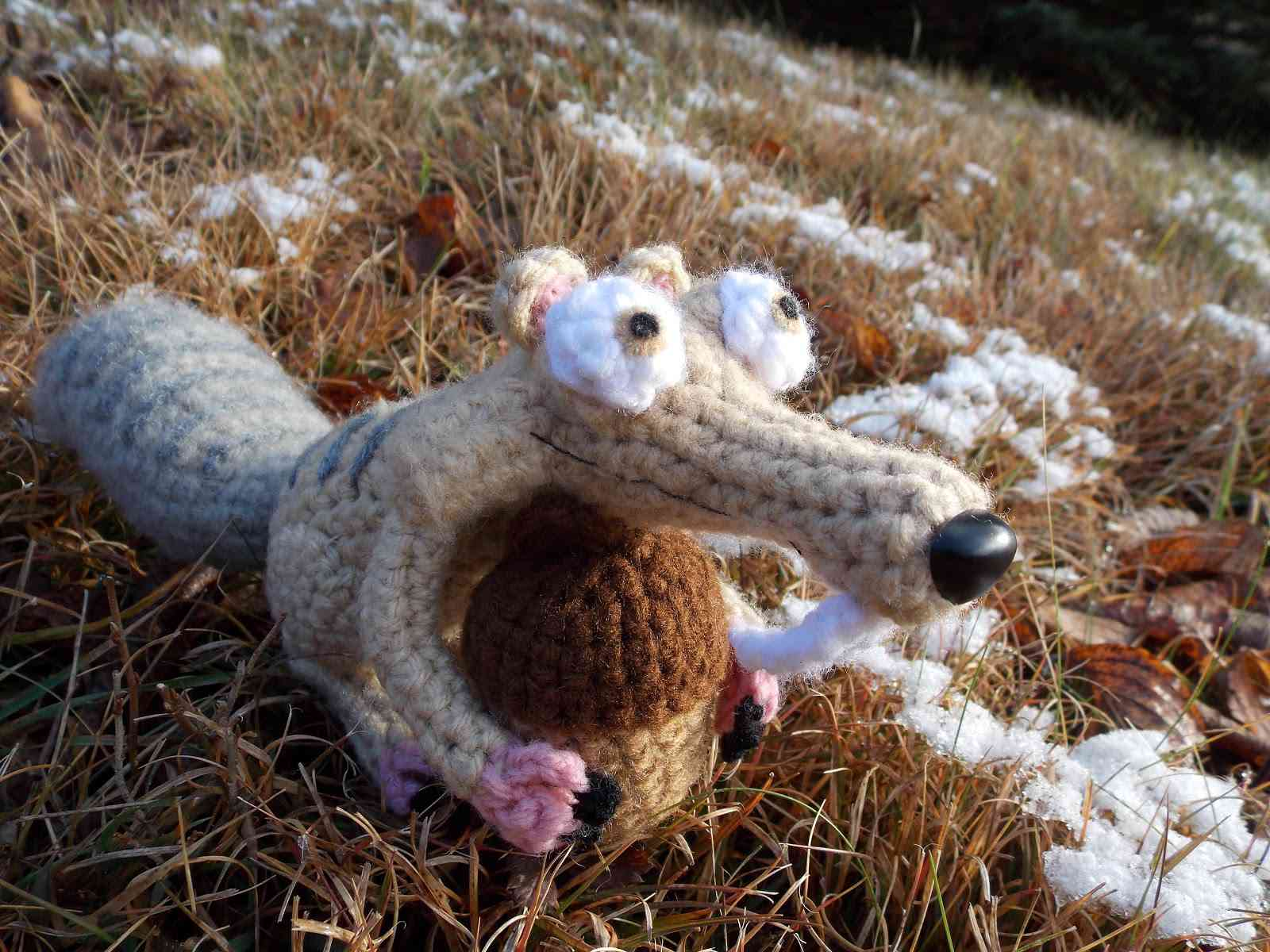 Free Crochet Elephant Applique