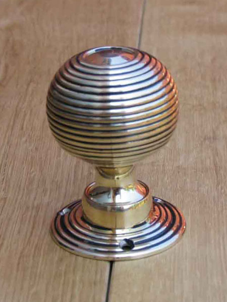 Solid Brass Beehive Door Knobs Stained Glass Doors Company