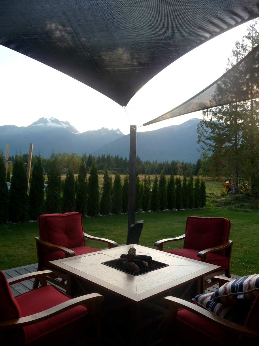 Shade Sails Are Perfect Solution For Small Backyards