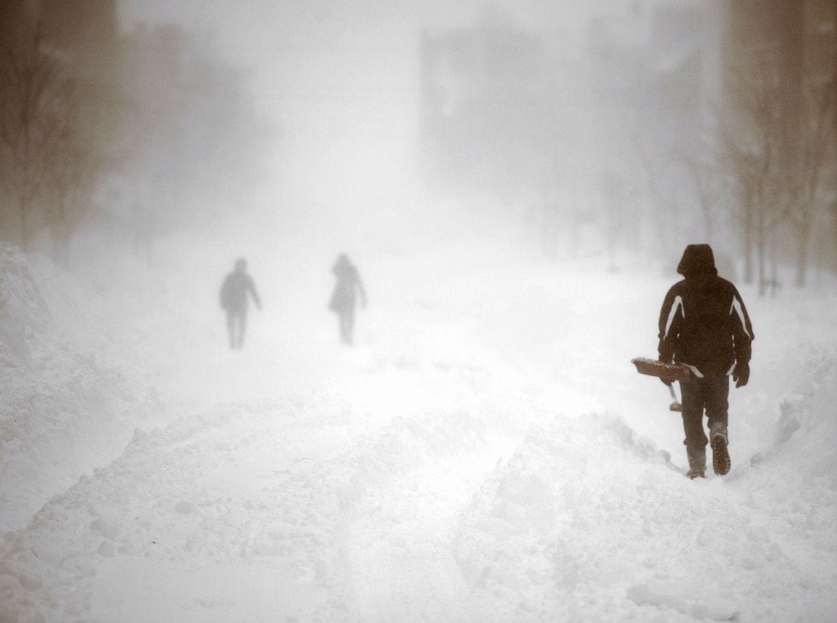 Maritimes Hit Hard By Blast Of Winter Weather Toronto Star