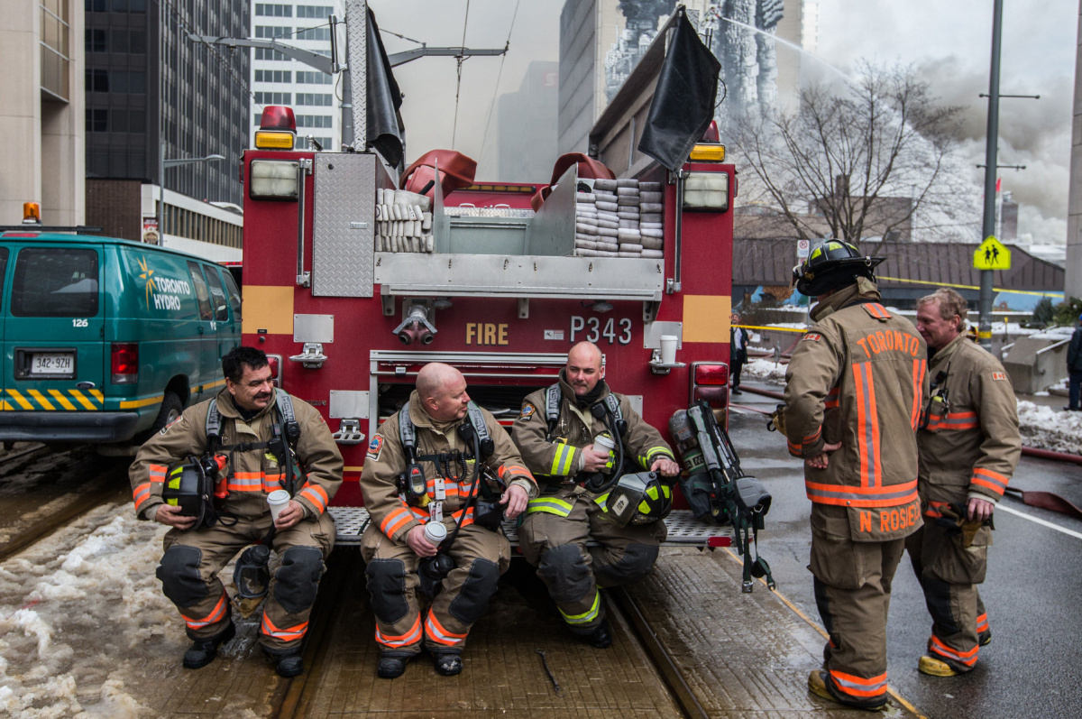 Arbitration gives Toronto firefighters a new collective ...