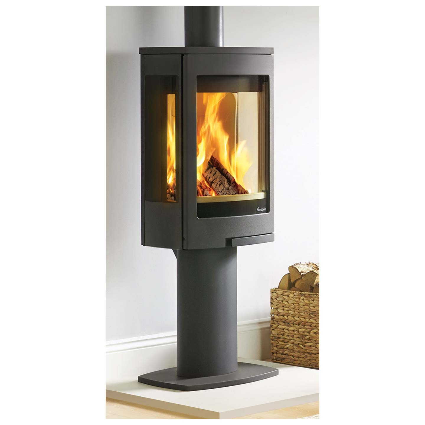 Nordpeis Duo 1 Wood Burning Stove Approved Dealer The