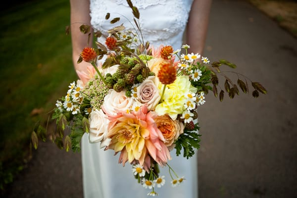 Fall Wedding Flowers Yellow