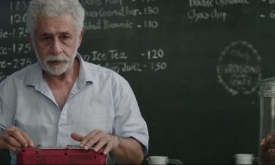 Interior Cafe Night Starring Naseeruddin Shah and Shweta Basu Prasad