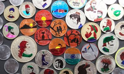 Coin Painting, Rare Talent