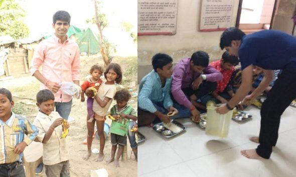 Ankit Kawatra, Feeding India
