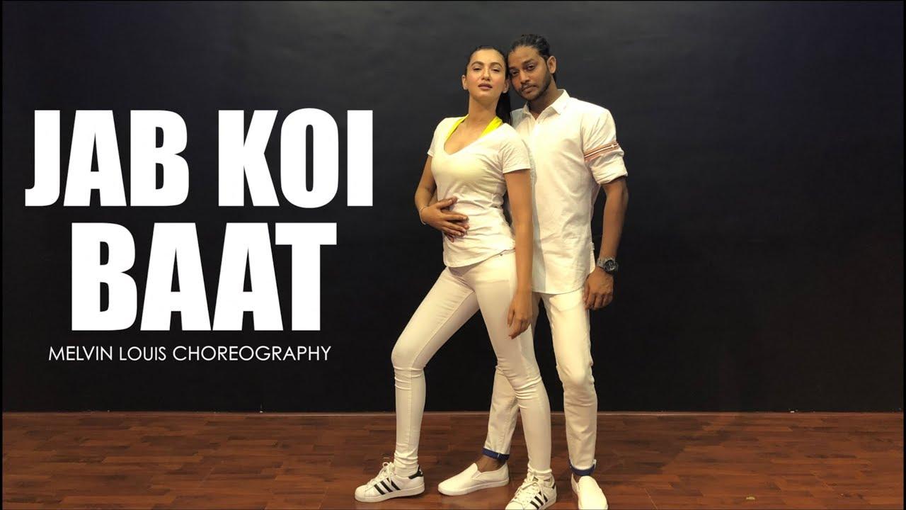 Gauahar Khan, Melvin Louis, Jab Koi Baat, Dance