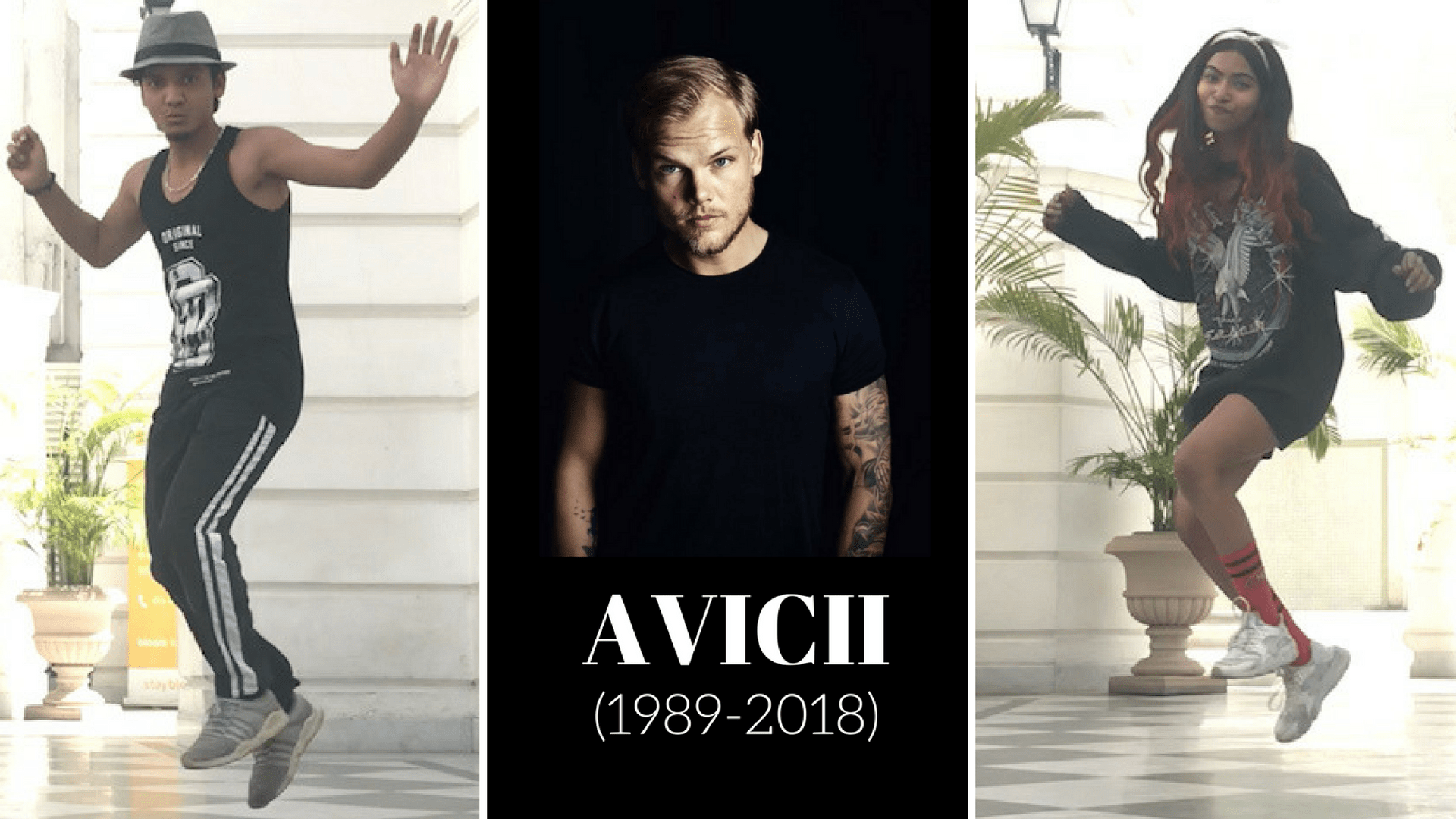 Tribute to Avicii, Indian Dancers, Avicii, Amit K Samania, Prakrati Kushwaha