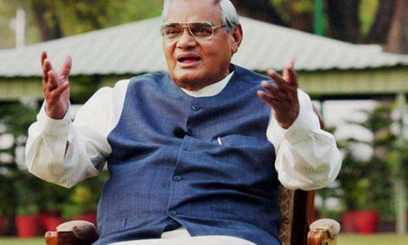 Atal Bihari Vajpayee, Eminent Wordsmith, Distinguished Statesman, Poet, Former Prime Minister of India