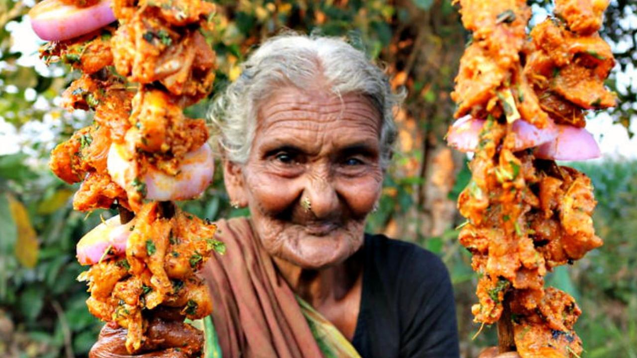 Andrakashari Mastanamma, India's Oldest YouTuber, Content Creator, Country Foods, Recipes