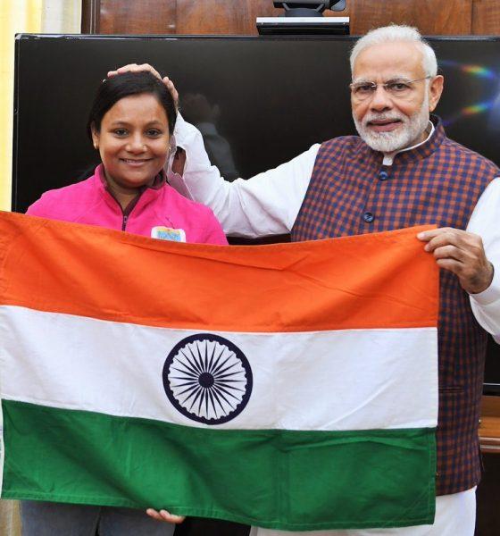 Arunima Sinha, Mt Vinson, Padma Shri Awardee, Narendra Modi, First Female Amputee