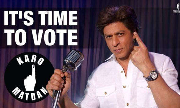 Karo Matdan, Shah Rukh Khan, Abby Viral, Voting, Democracy, Election 2019