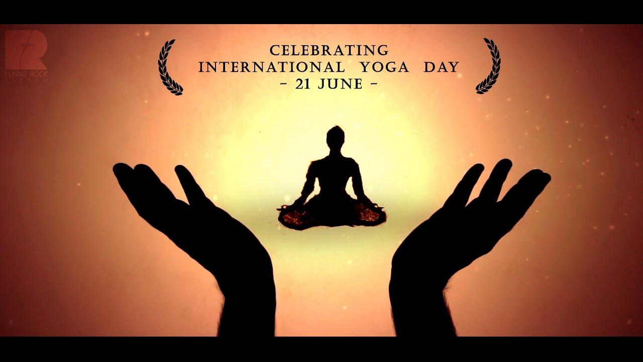 International Day of Yoga Sand Art