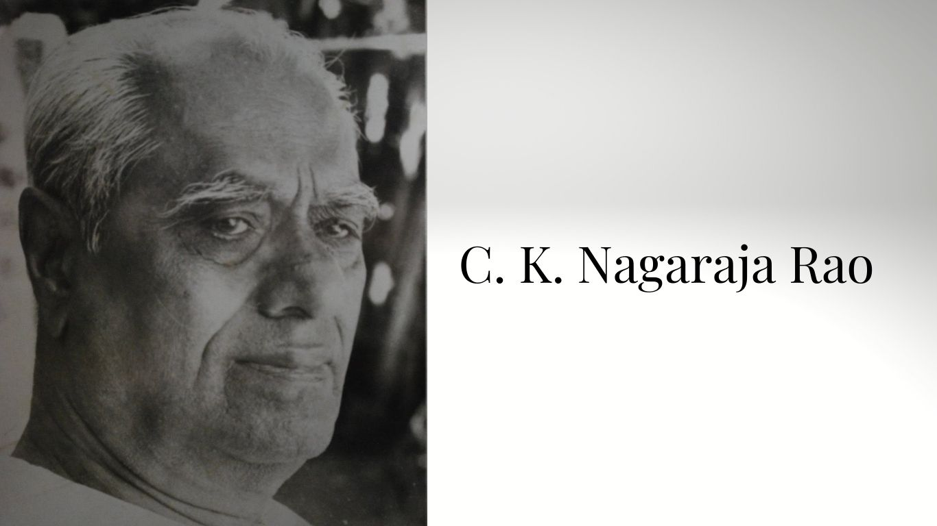 C. K. Nagaraja Rao