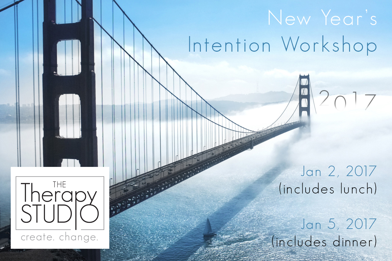 2017 New Year s Intention Workshop  lunch    The Therapy Studio     of those who set New Year s Resolutions will actually achieve those  goals  Get it right this year by setting intentions  not unreachable  resolutions
