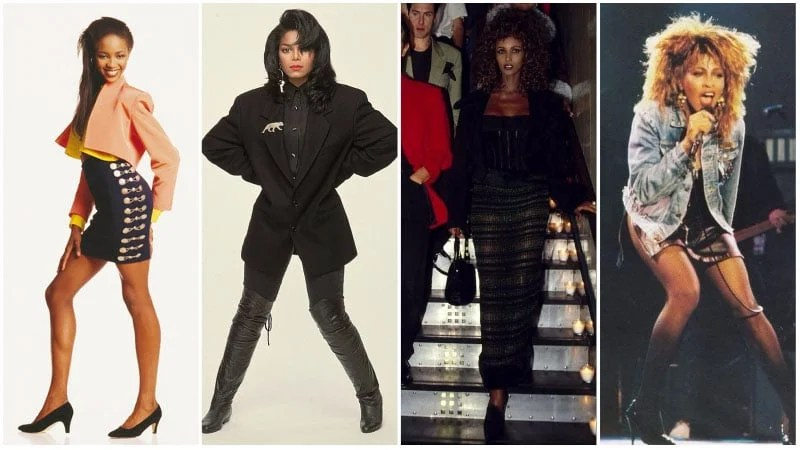 80 s Fashion  How to Get The 1980 s Style    The Trend Spotter 80s Black Fashion