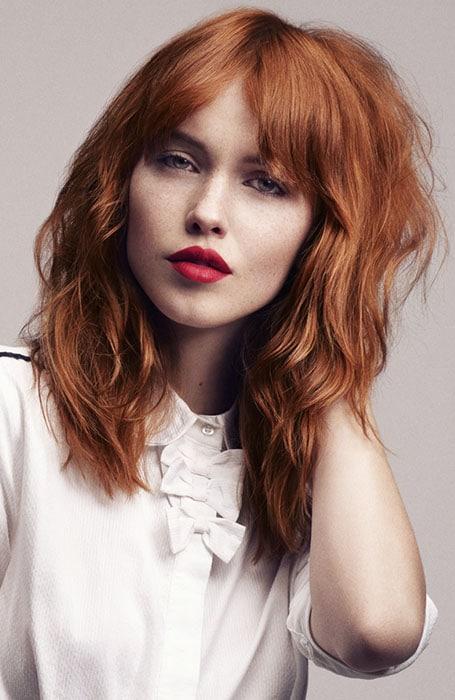 Mahogany Light Brown Hair Color