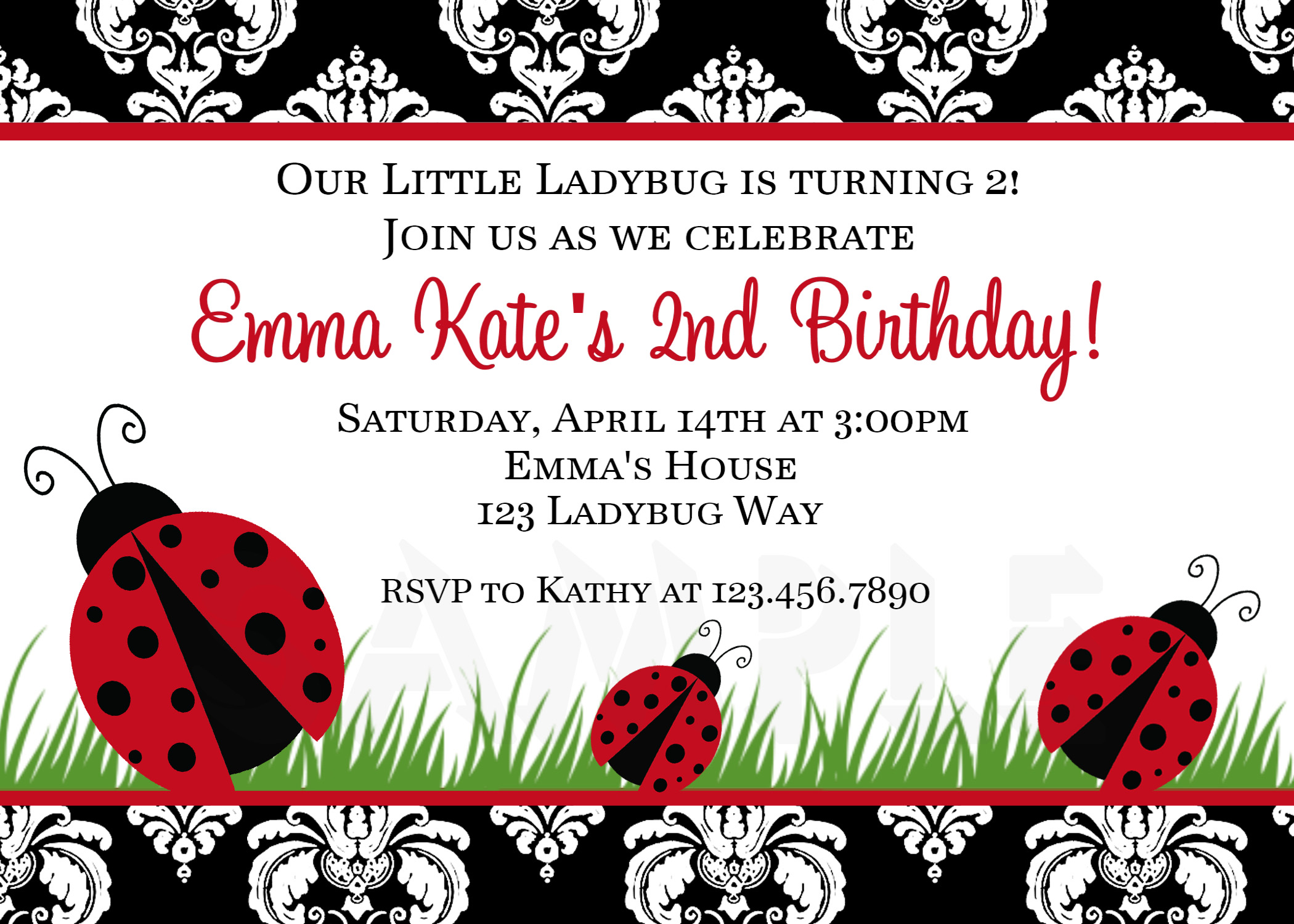 Free Printable 5x7 Baby Shower Invitations