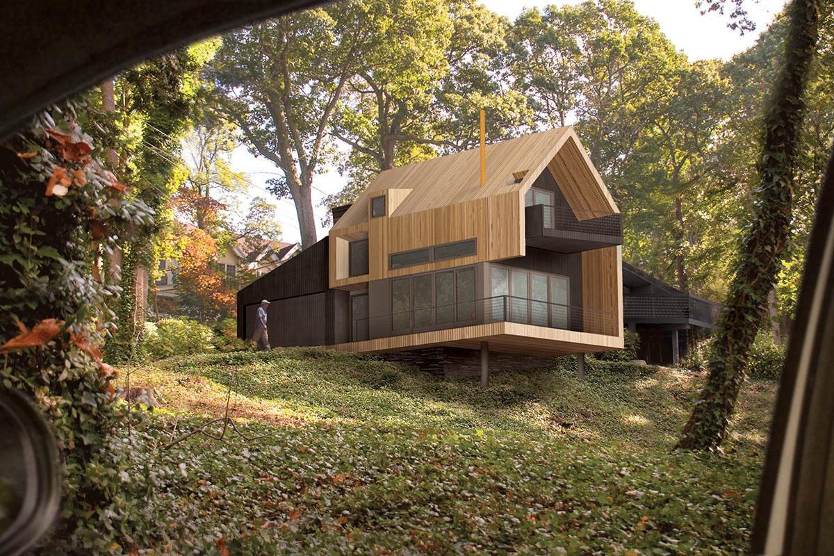 The Up Studio Uphill House