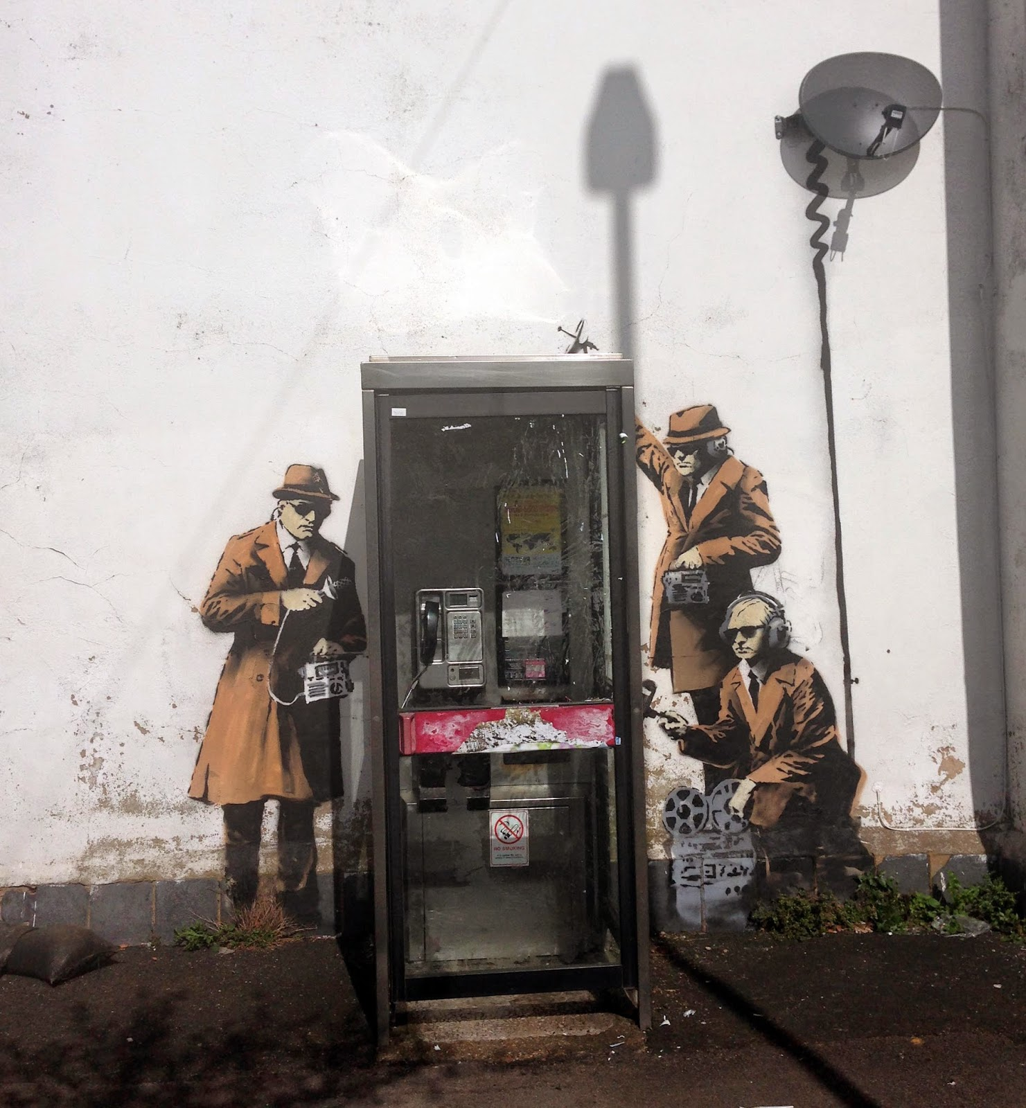 Banksy New Mural Cheltenham Uk