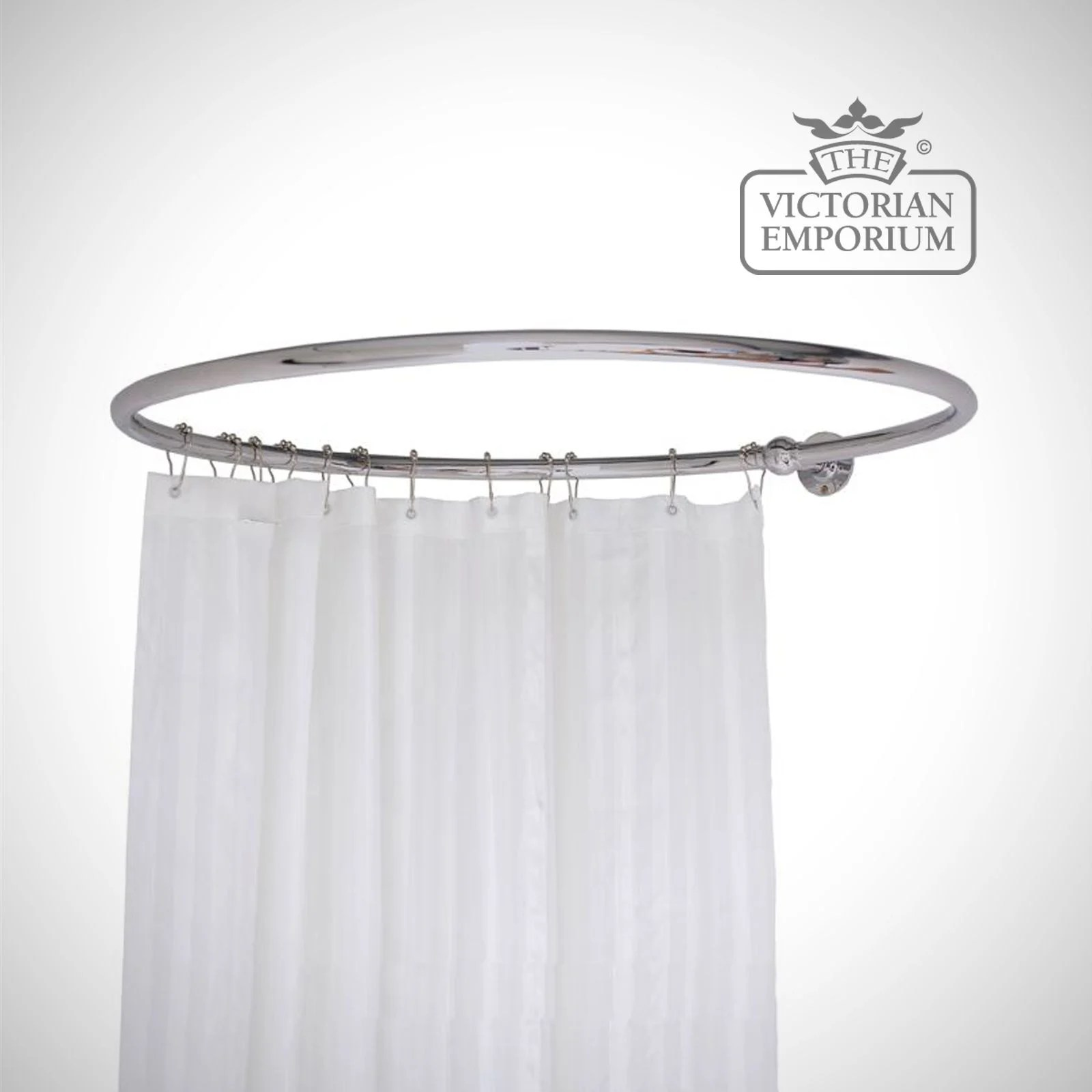 Shower Curtain Rail Freestanding Bath