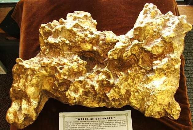 Biggest Gold Nugget Found World