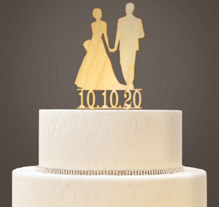 Wedding Cake Toppers   Wedding Cake Tops Bride   Groom Custom Wedding Cake Topper   Wooden