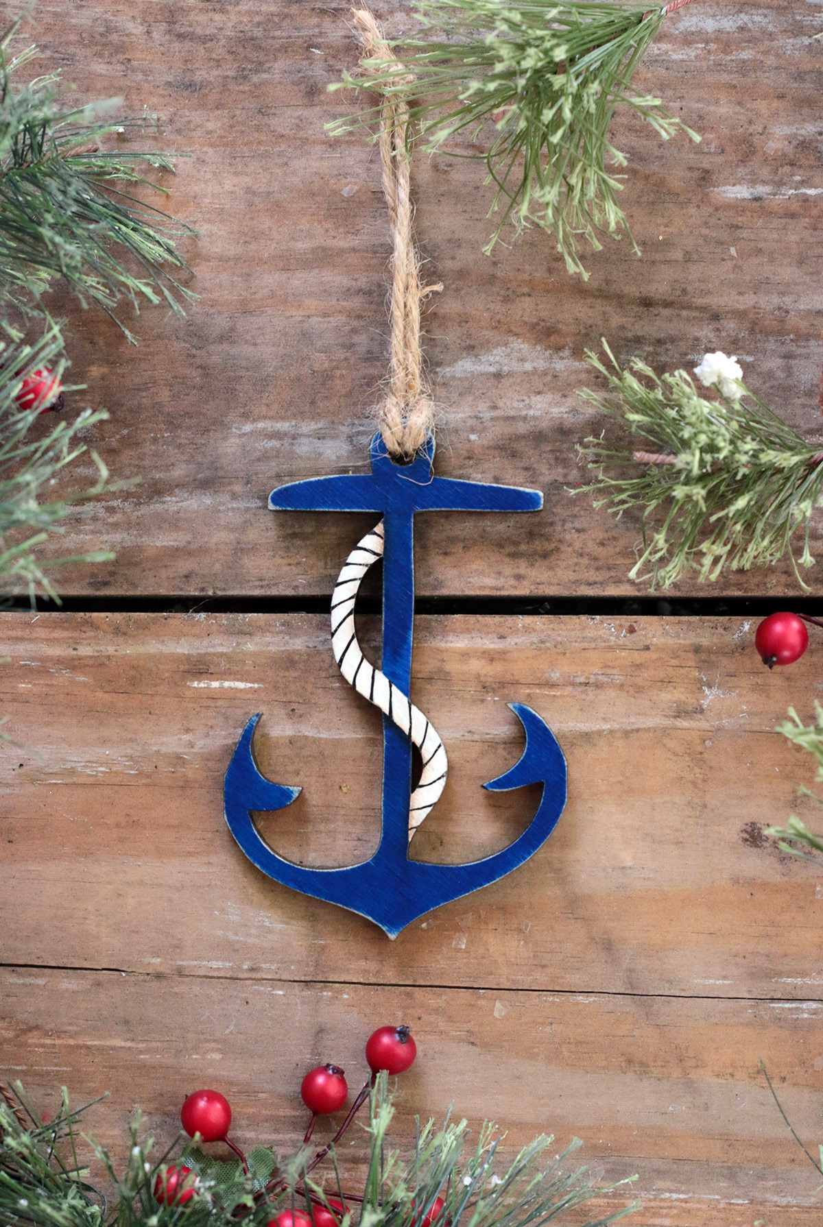 Anchor Ornament Handmade In The Usa The Weed Patch