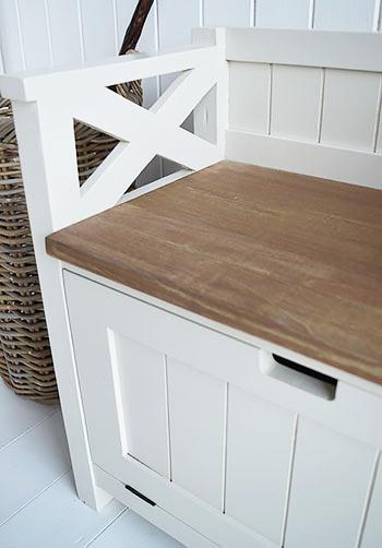 Brunswick Storage Bench And Shoe Storage For Hall Furniture