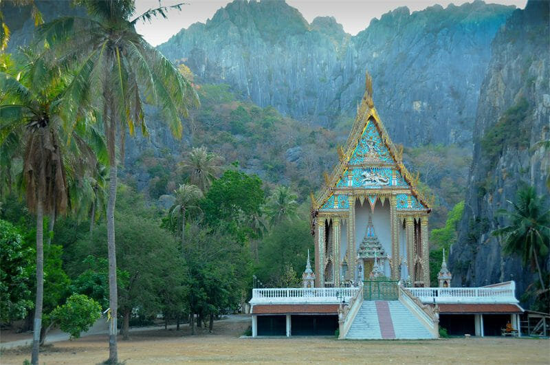 National Park Sam Night Thailand Time Khao Yot Roi