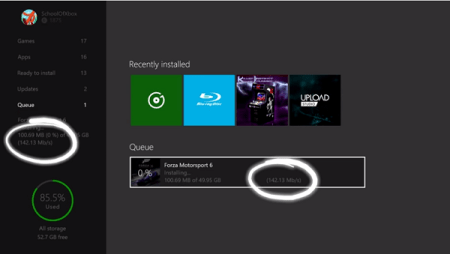 fix game or app downloads are slow on xbox one