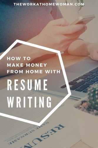 How to Make Money From Home with Resume Writing Are you good at proofreading and persuasive writing  Then becoming a  professional resume writer may