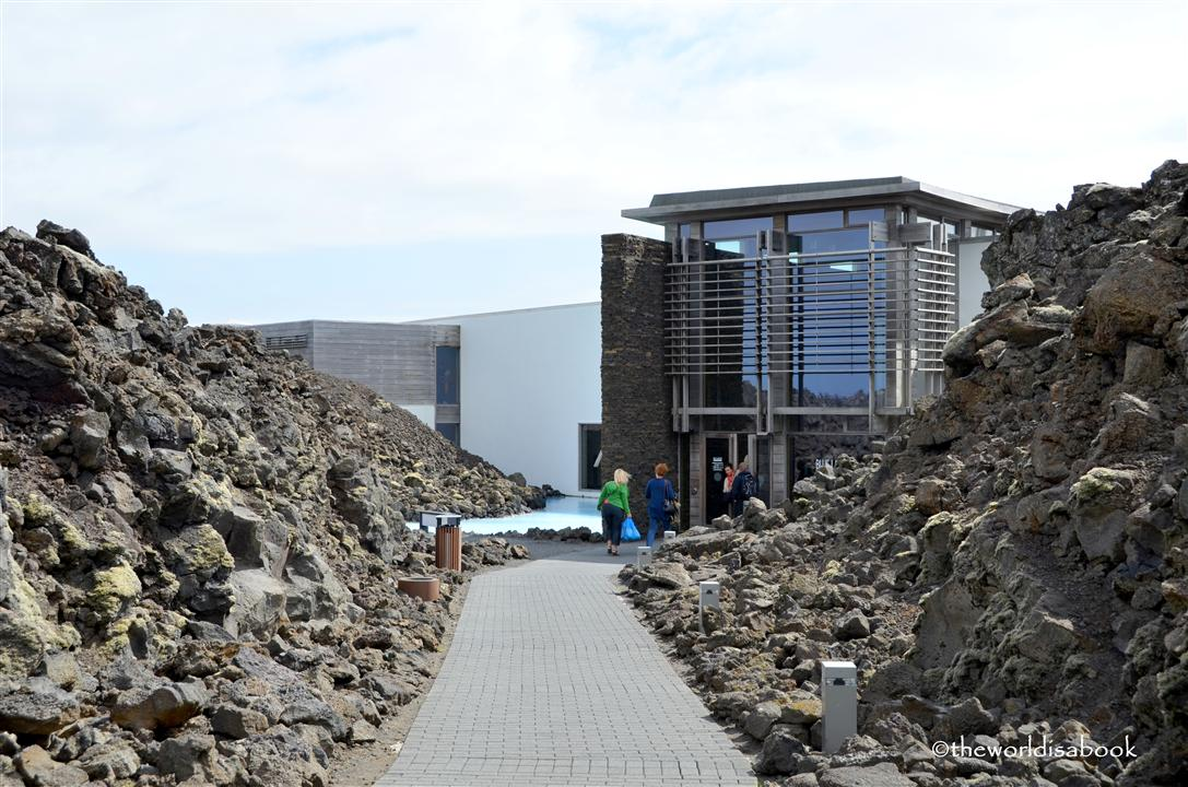 Iceland Blue Lagoon path