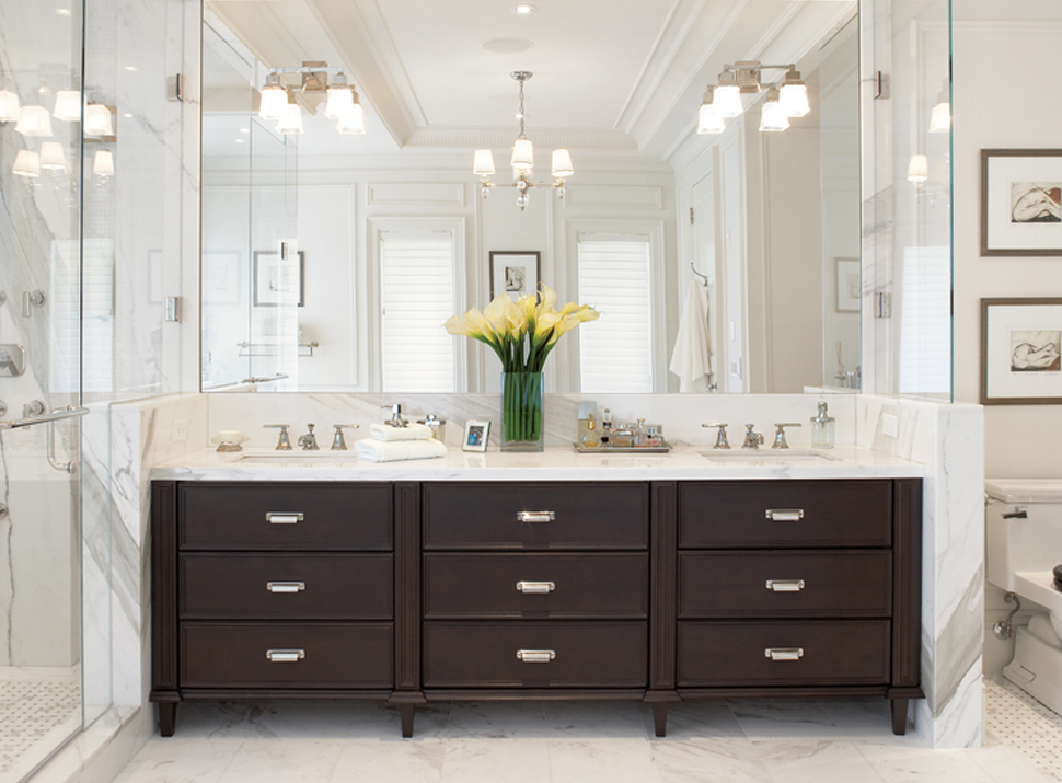 21 Outstanding Transitional Bathroom Design