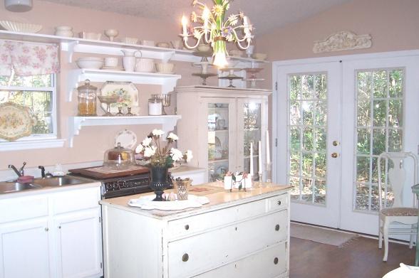 20 Inspiring Shabby Chic Kitchen Design Ideas