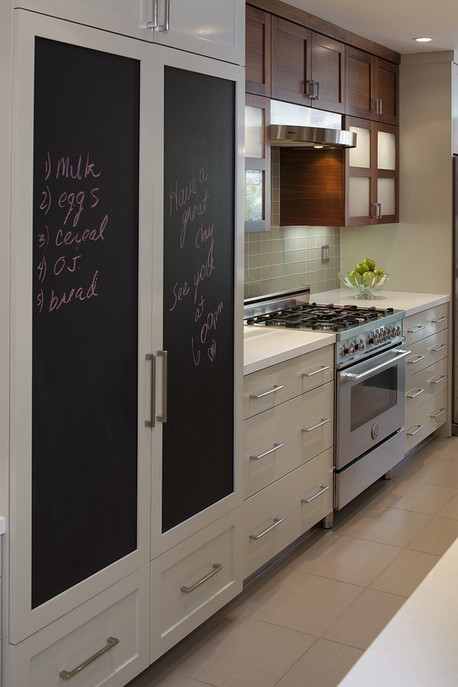 Contemporary Kitchen Notice Boards