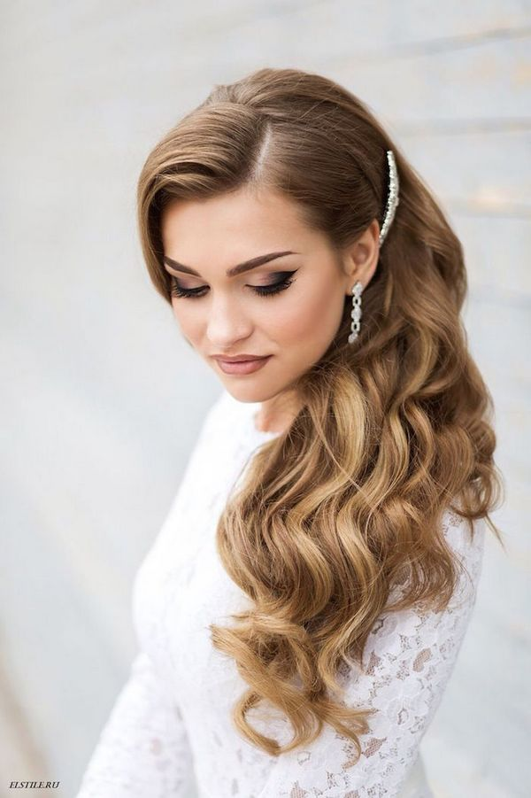60  Wedding   Bridal Hairstyle Ideas  Trends   Inspiration   The Xerxes Brown wedding hairstyles