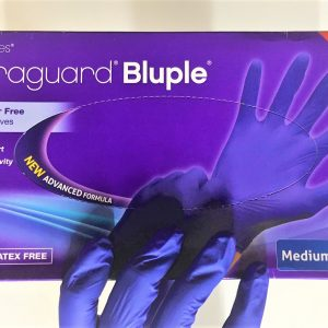 Bluple Nitrile Gloves