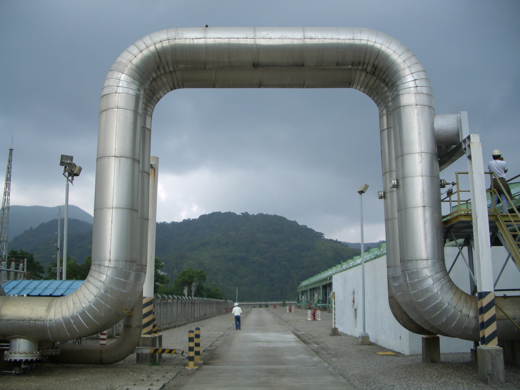 Geo Thermal Plant Philippines