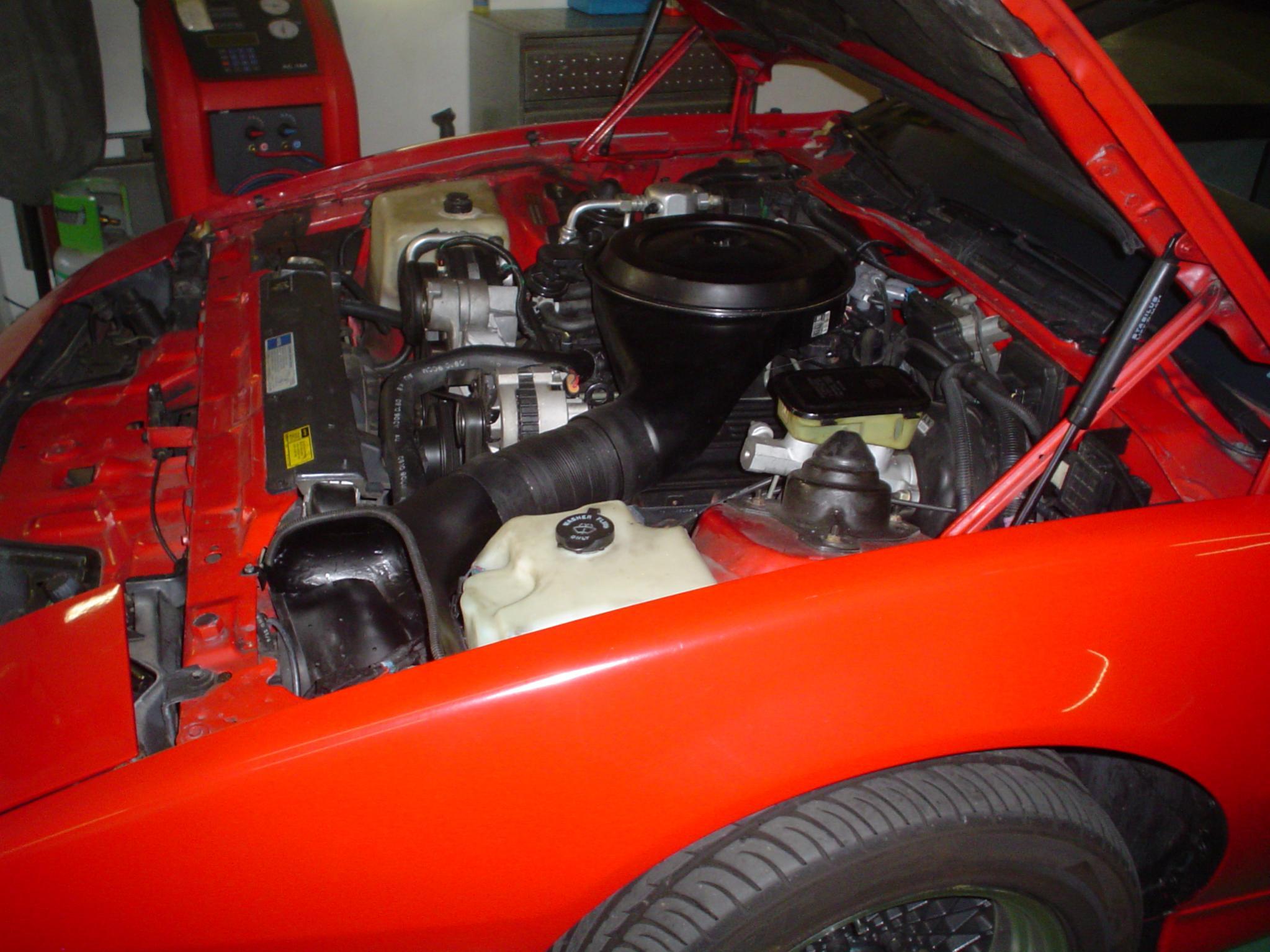Classic cool DIY TBI cold air intake - Third Generation F ...