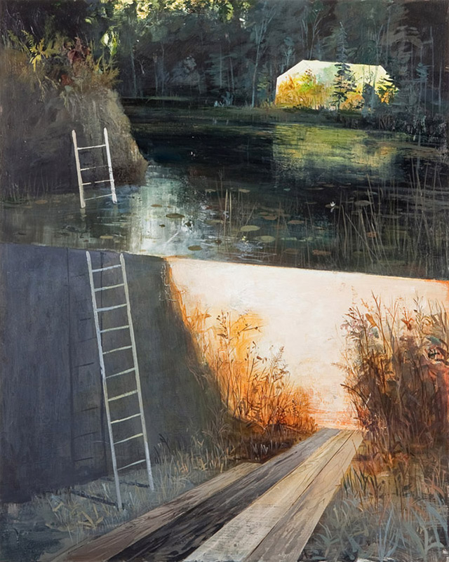 Dreamlike Split Level Landscapes Painted By Jeremy Miranda