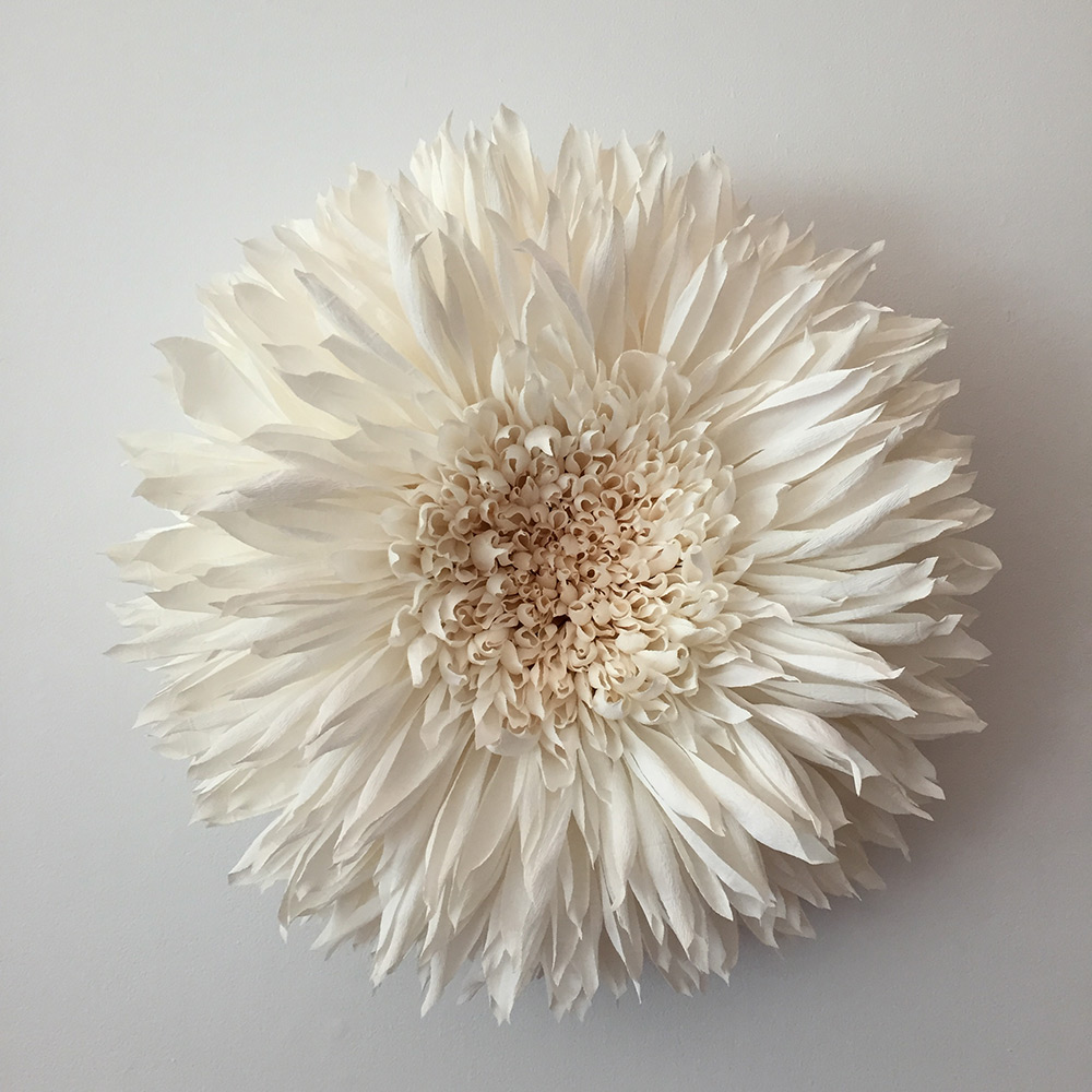 New Giant Paper Flower Sculptures by Tiffanie Turner   Colossal flower 9