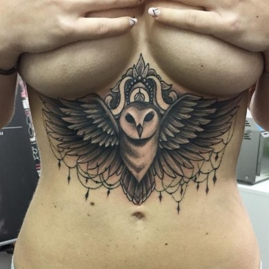 80 Under Breast Tattoos that Will Emphasize Your Assets under brest tattoo designs  2