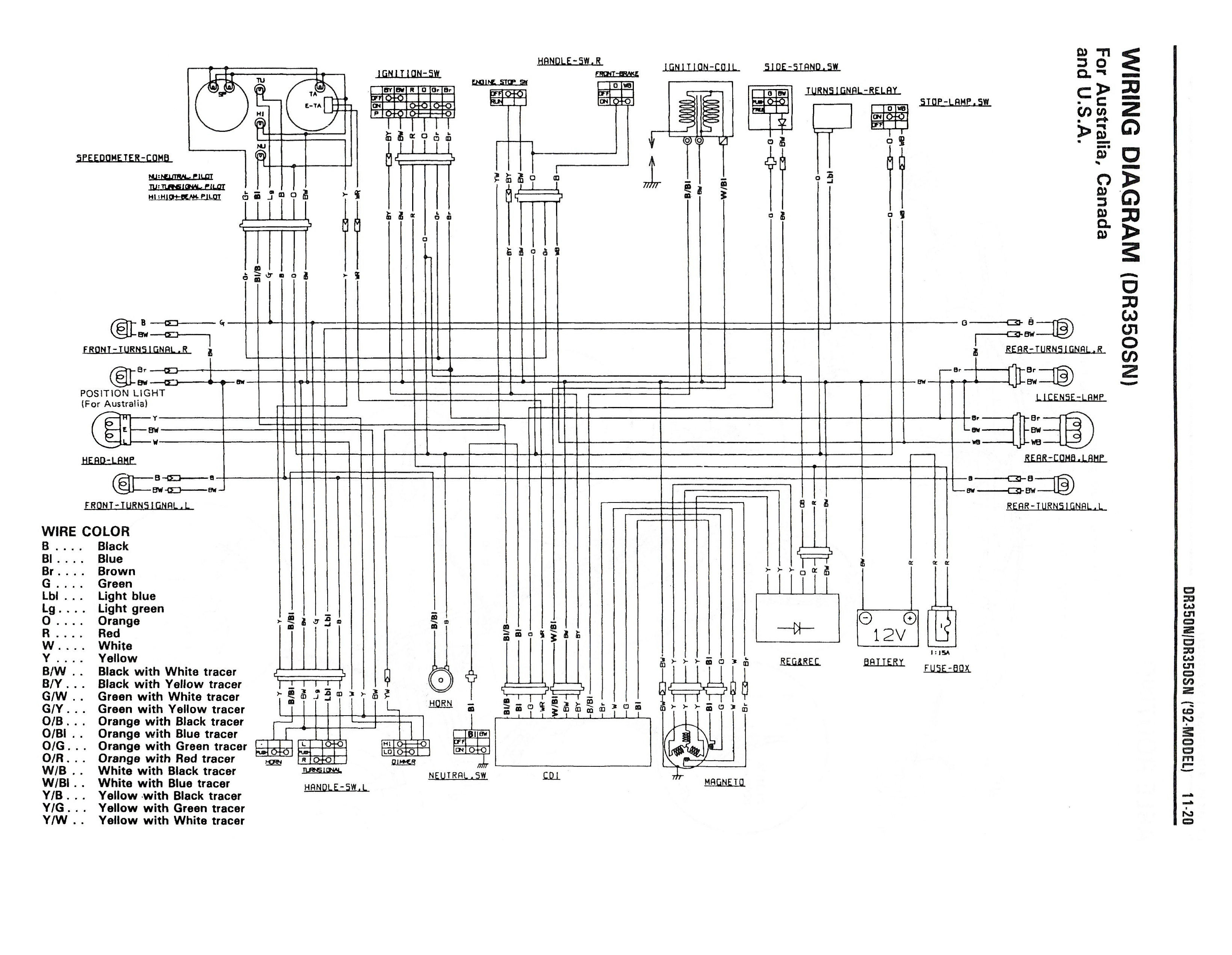 Wiring Diagrams For 1992 Nissan Pathfinder Diagram