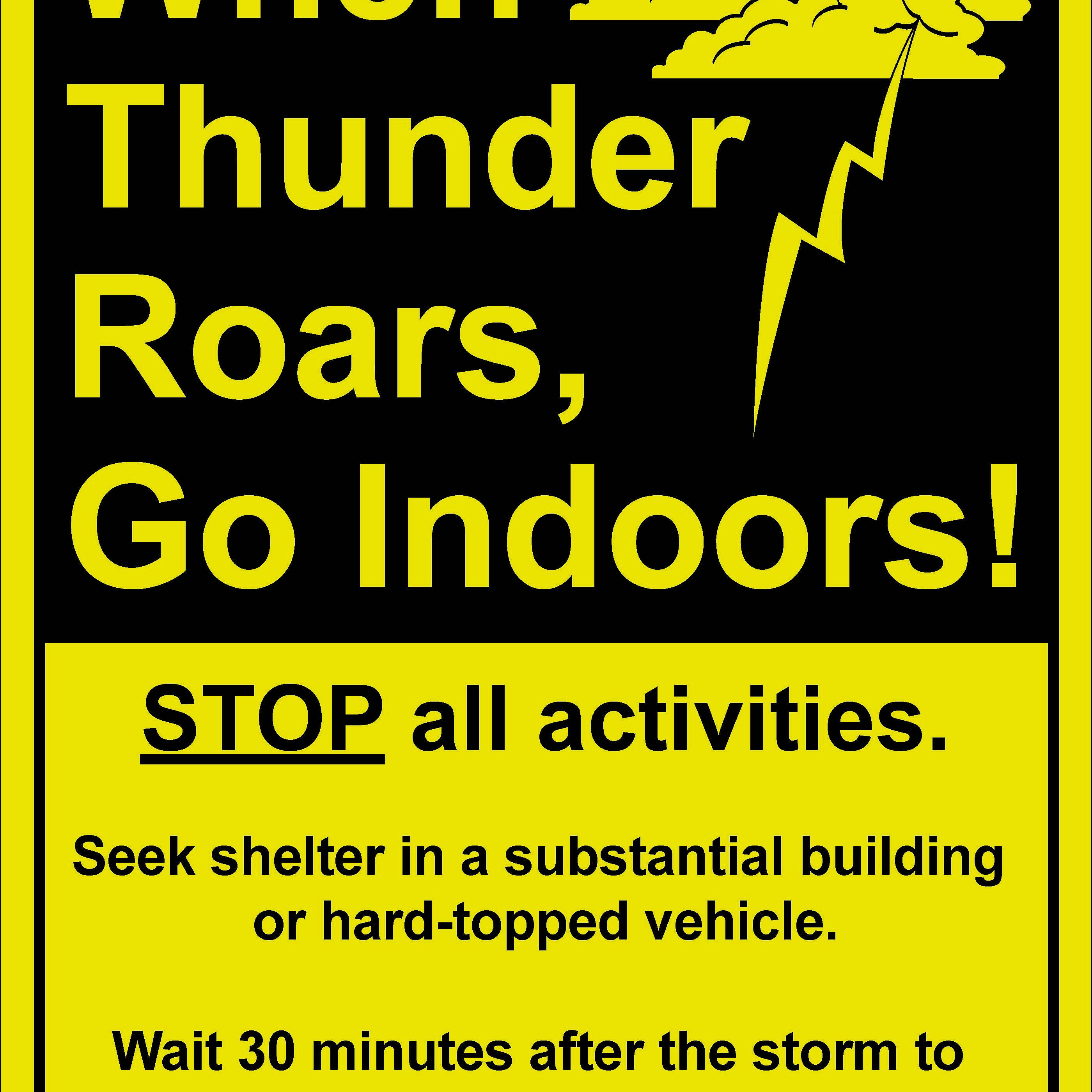 Severe Weather Safety Slogans