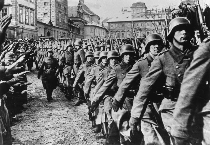 Understanding the Key Events of World War II Nazis enter Prague  1939