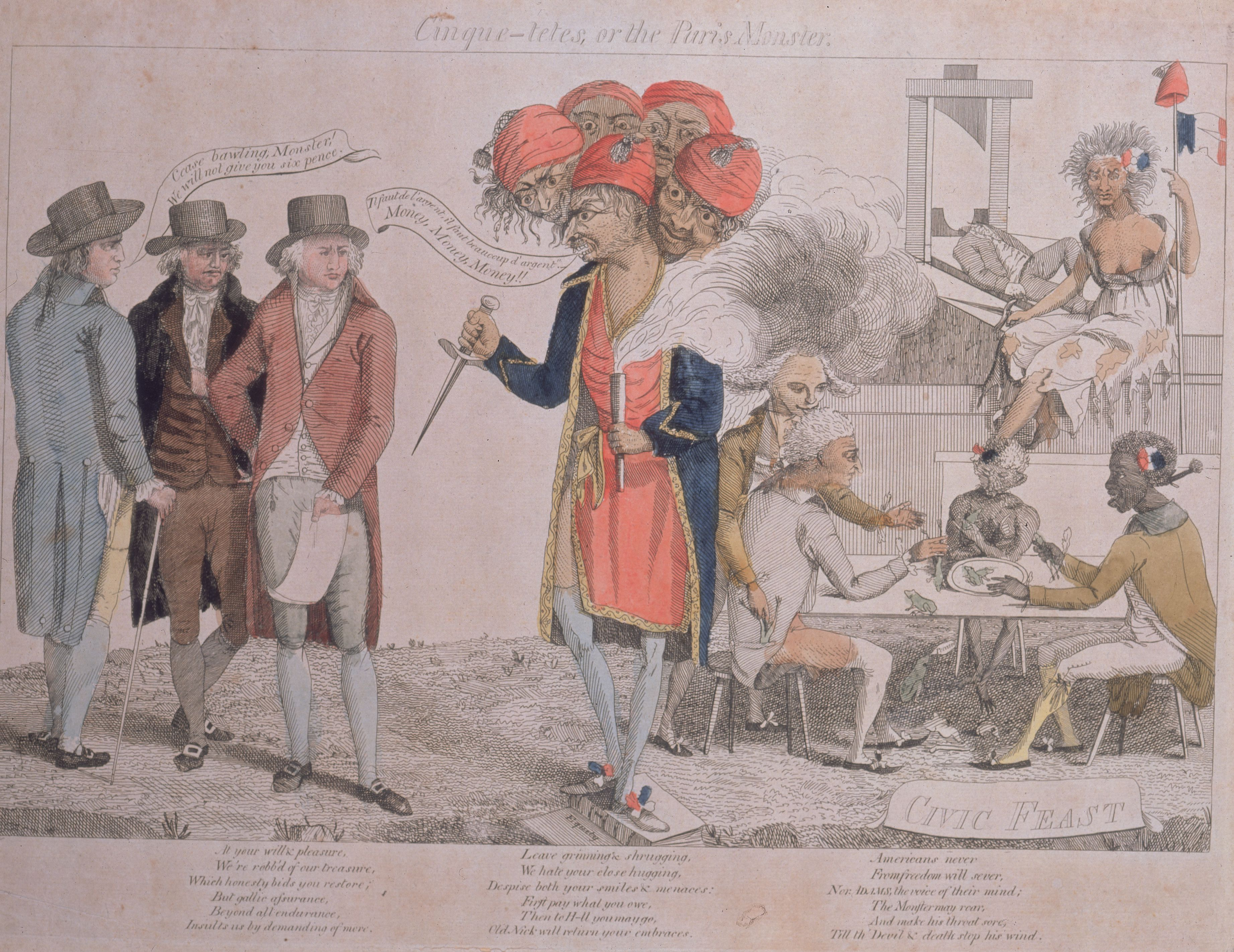 The Xyz Affair Dispute Between France And The U S